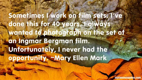 Quotes About Ingmar