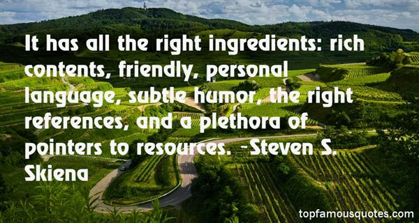 Quotes About Ingredient