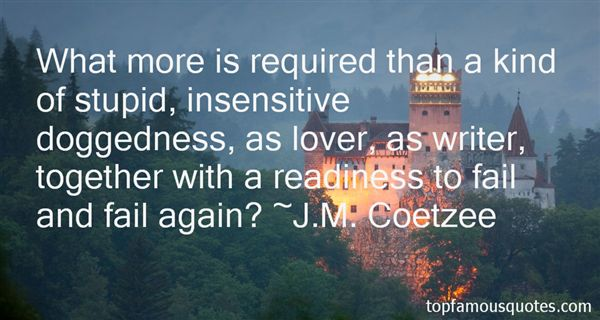 Quotes About Insensitive Love