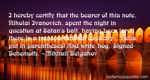 Quotes About Ivanovich