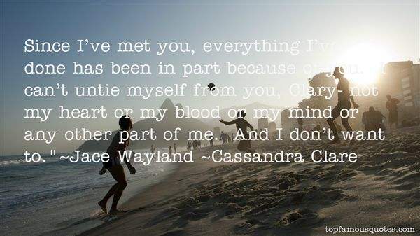 Quotes About Jace Wayland