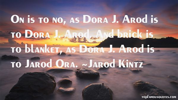 Quotes About Jarod
