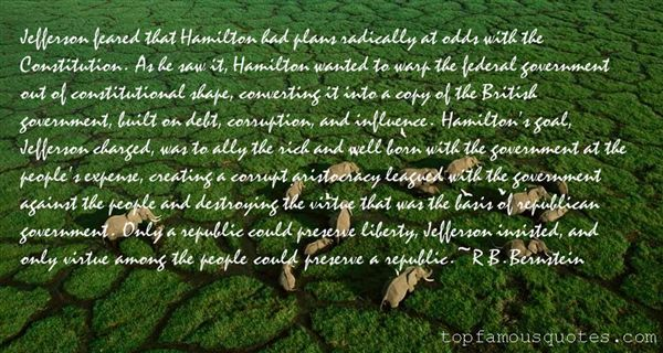 Quotes About Jefferson Constitution