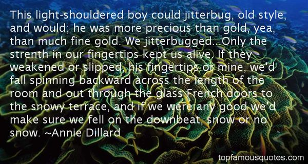 Quotes About Jitterbug