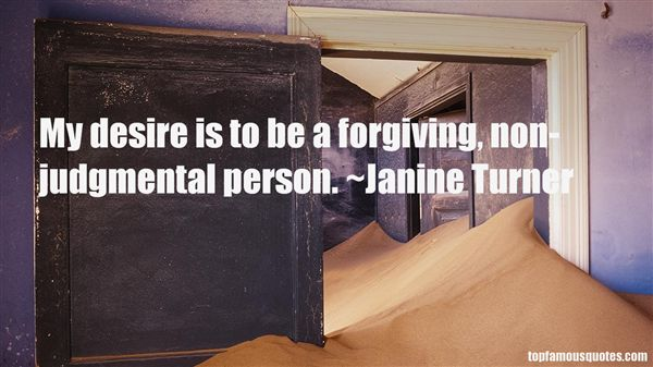 Quotes About Judgmental Person