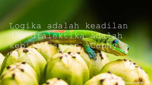 Quotes About Keadilan