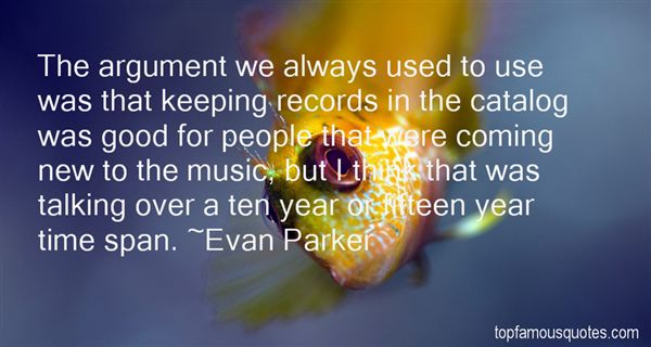 Quotes About Keeping Records