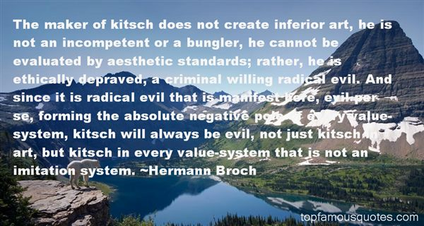 Quotes About Kitsch