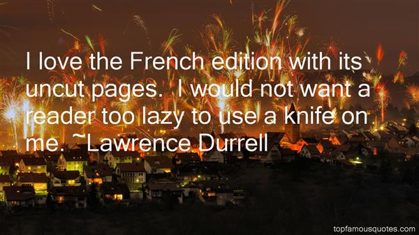 Quotes About Knife