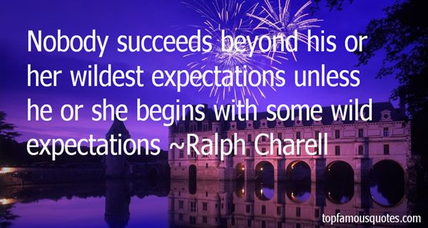 Quotes About Less Expectations