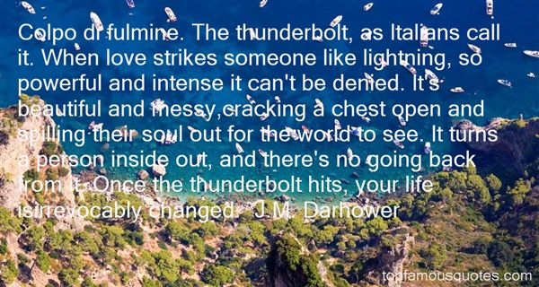 Quotes About Lightning And Life
