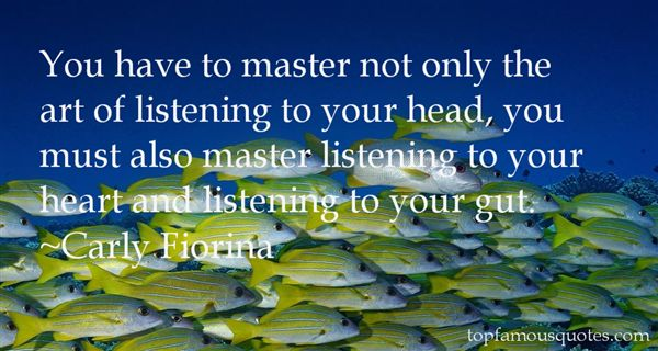 Quotes About Listening To Your Gut