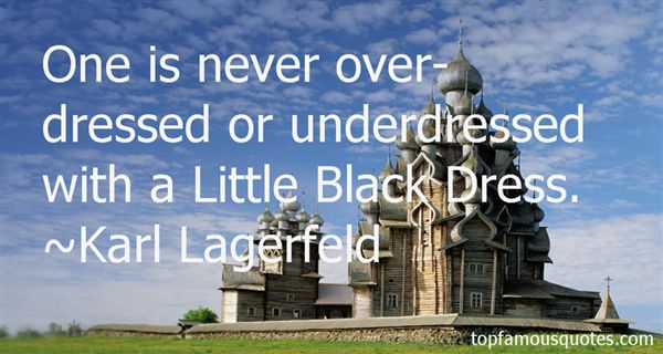 Quotes About Little Black Dress