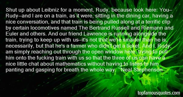 Quotes About Locomotive