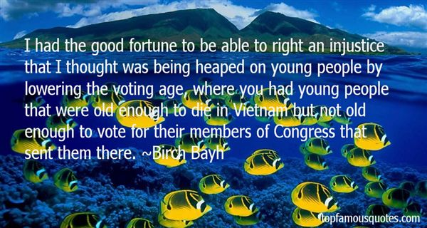 Quotes About Lowering Voting Age