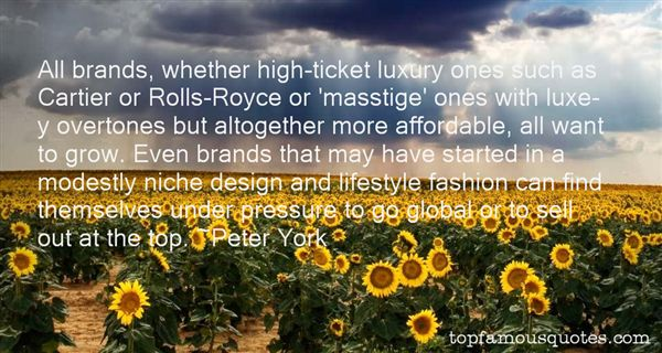 Quotes About Luxury Brands