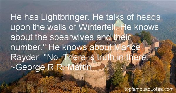 Quotes About Mance