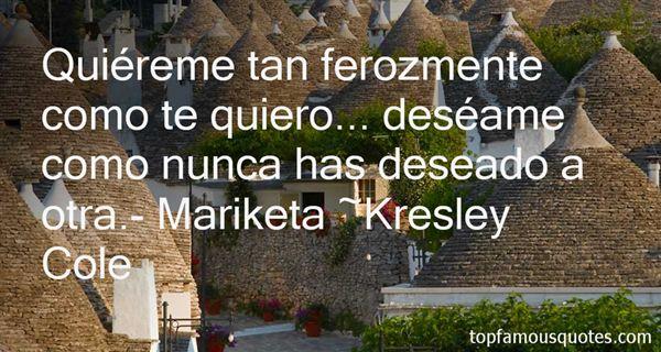 Quotes About Mariketa