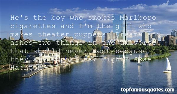 Quotes About Marlboro Cigarettes