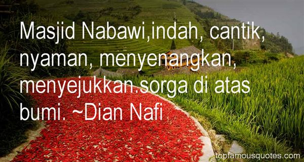 Quotes About Masjid Nabawi