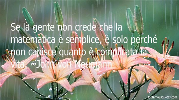 Quotes About Matematica