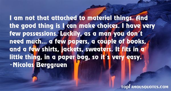 Quotes About Material Possessions