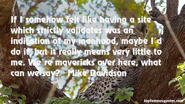 Quotes About Mavericks