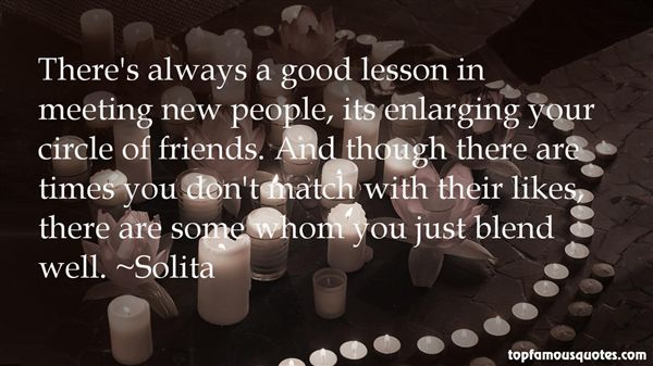 Quotes About Meeting New Friends