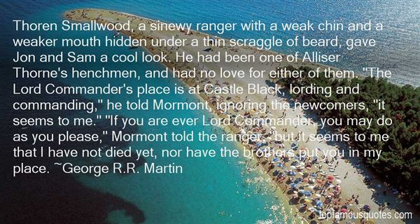 Quotes About Mormont