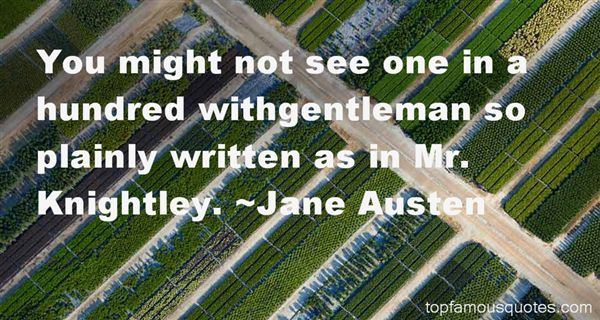 Quotes About Mr Knightley