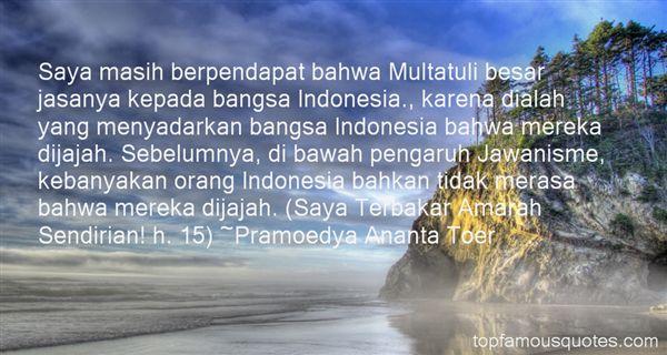 Quotes About Multatuli