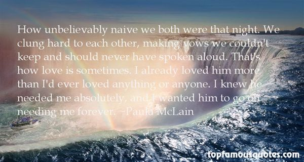 Quotes About Naive Love