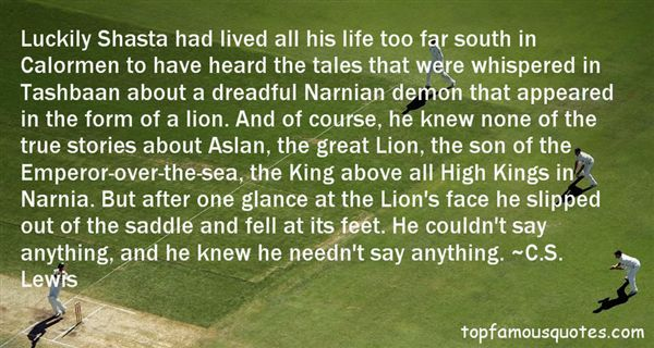 Quotes About Narnia
