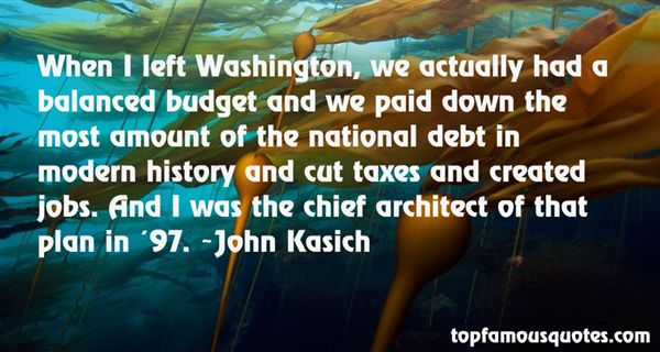 Quotes About National Debt