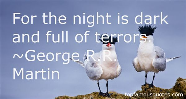 Quotes About Night Terrors