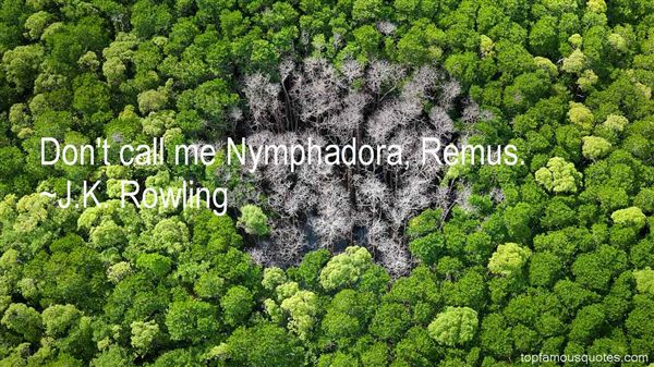 Quotes About Nymphadora