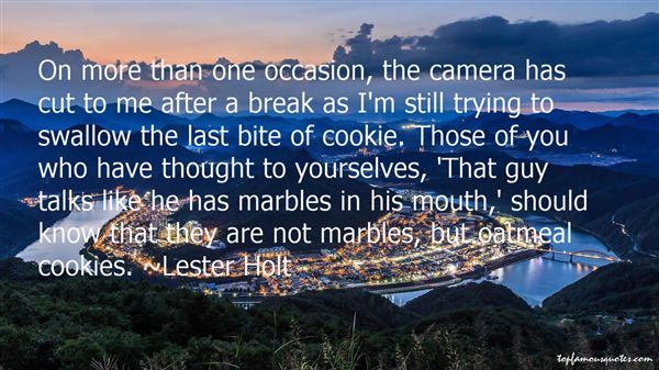 Quotes About Oatmeal Cookies