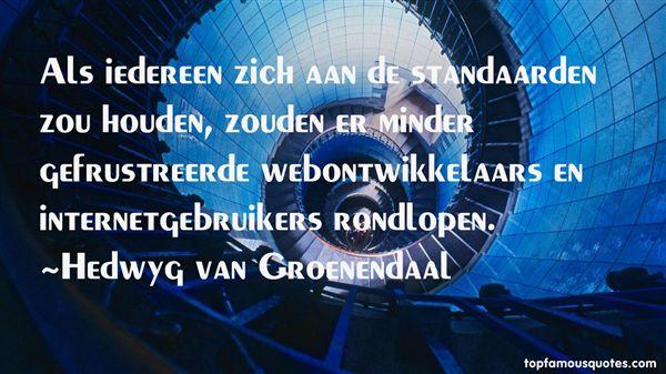 Quotes About Ontwikkelaar