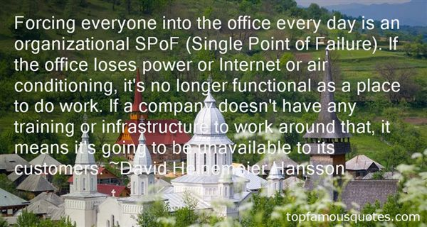 Quotes About Organizational Structure