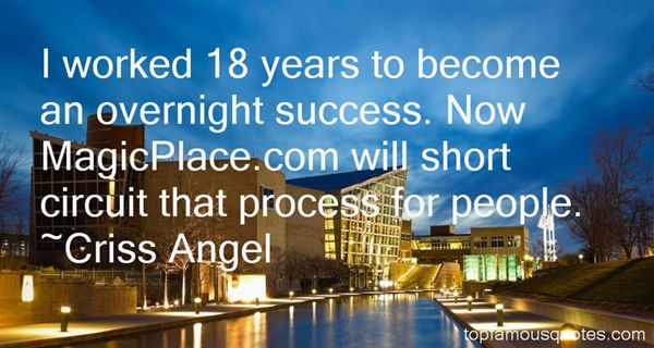 Quotes About Overnight Success