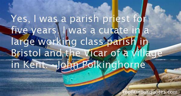 Quotes About Parish Priest