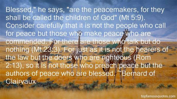 Quotes About Peacemakers