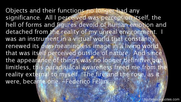 Quotes About Perceived Reality