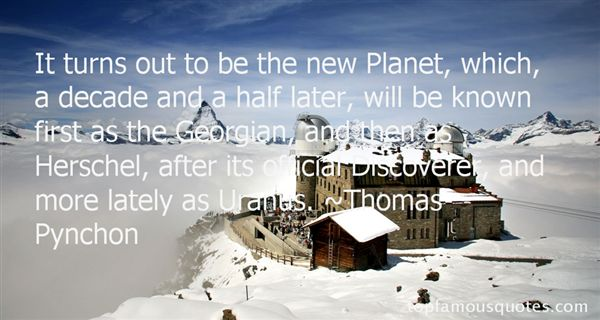 Quotes About Planet Uranus
