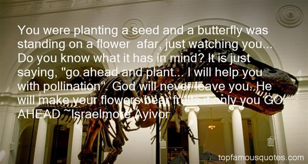 Quotes About Planting Flowers