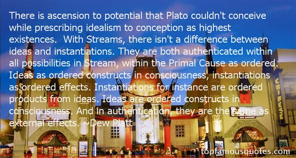 Quotes About Plato Idealism
