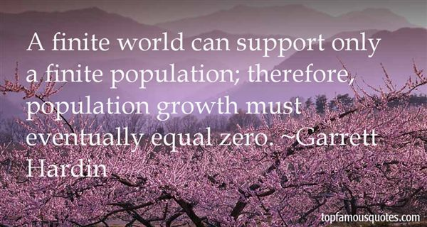 Quotes About Population Growth