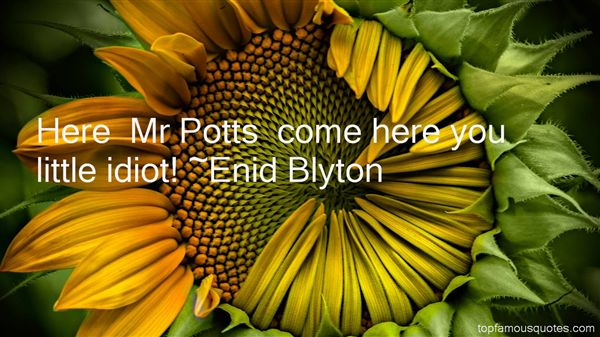 Quotes About Potts