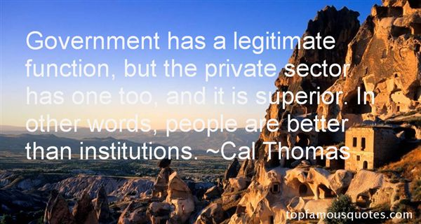 Quotes About Private Sector