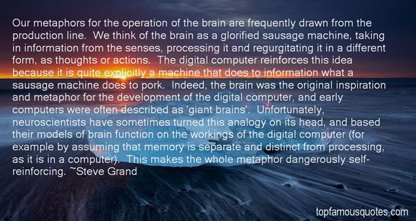 Quotes About Processing Thoughts